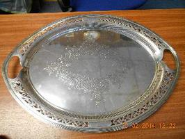 Silver Tray SOLD For £625