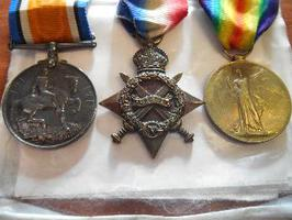 Medals SOLD For £480